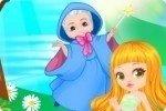 Kleine Prinzessin beim Arzt