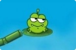 Frosch trinkt Wasser