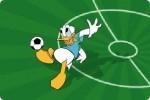 Mickey und Donald Fußball