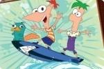 Phineas und Ferb anmalen