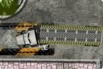 Lastwagen einparken