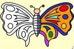 Schmetterling ausmalen