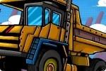Spiel Lastwagen Parcours