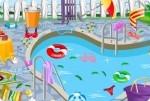 Schwimmbad reinigen